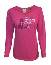 Dog is Good Women's Never Run Alone T-Shirt Great Gift for Dog Lovers