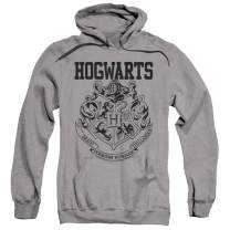 Popfunk Harry Potter Hogwarts Logo Pull-Over Hoodie Sweatshirt & Stickers