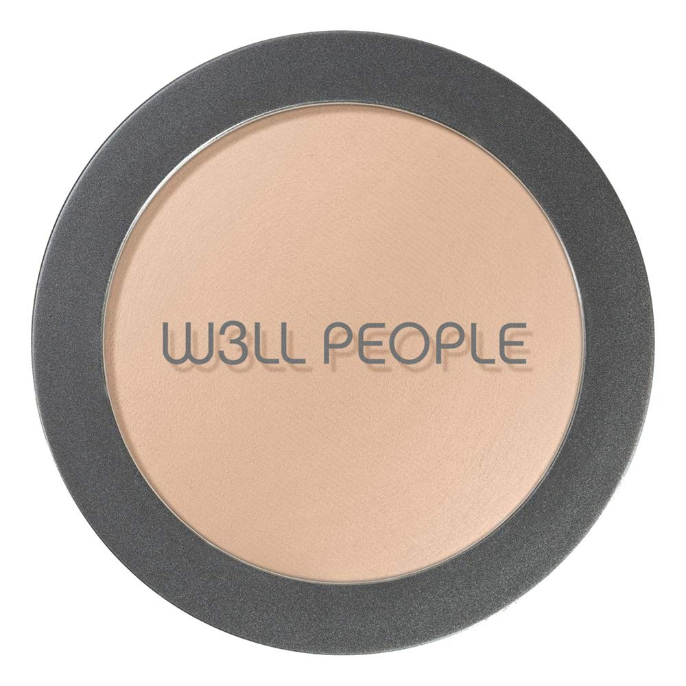 W3LL PEOPLE - Natural Bio Base Baked Foundation | Clean, Non-Toxic Makeup (Fair Pink)