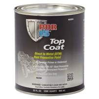 POR-15 46004 Top Coat Silver Paint 32. Fluid_Ounces