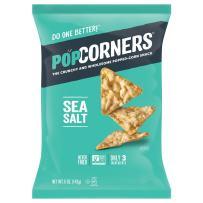 POPCORNERS Salt of the Earth, Popcorn Chips (5oz/12 Pack)