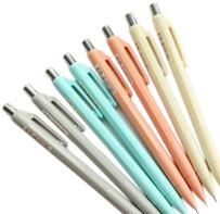 GANSSIA Colorful Series Design 0.7mm Mechanical Pencils Pack of 8 Pcs