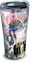 Tervis Star Wars Graffiti Stainless Steel Insulated Tumbler with Clear and Black Hammer Lid, 20 oz, Silver