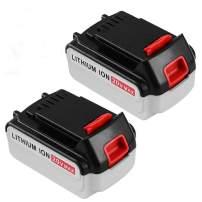 5.0Ah Lithium Ion Replacement for Black and Decker 20V MAX Battery LBXR20 LB20 LBX20 LBXR2020-OPE LBXR20B-2 LB2X4020-2 Packs