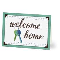 Hallmark Business New Home Cards for Realtors, Real Estate Agents and Insurance Agents (Welcome Home Keys) (Pack of 25 Greeting Cards)