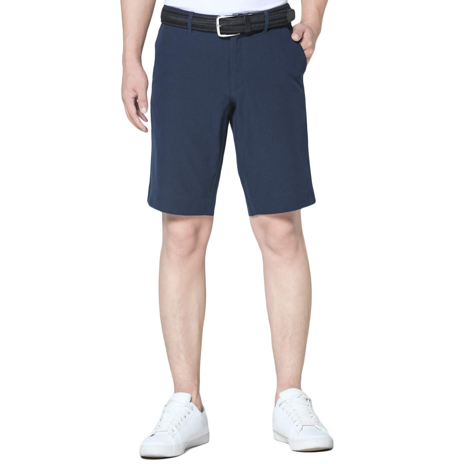 EAGEGOF Dry Fit Golf Shorts for Men Classic Fit Tapered Mens Shorts Athletic
