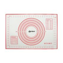 Aprince Silicone Non-Stick Baking Mat Large with Measurements, Non-Slip for Rolling Dough, Cookie Sheet Kneading Mat (Style 3-15.75''x23.62'')