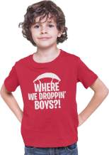 Go All Out Youth Where We Dropping Boys T-Shirt