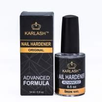Karlash Nail Hardener Advanced Formula Iron Nail Strong and Growth 0.5 oz