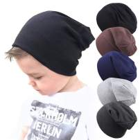 Whteian Baby Hat Baby Boy's Beanie Hats Cotton Skull Caps for Toddlers Kids Little Boys 0-5T
