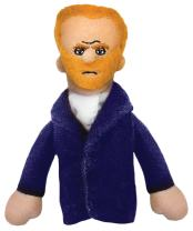 Vincent Van Gogh Finger Puppet and Refrigerator Magnet - For Kids and Adults