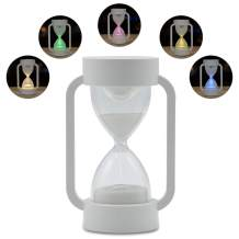 Yocuby Hourglass Sand Timer for Kids, 10 Minute Sand Timer Lamp with RGB Color Changing& Warm Light, Nursery Night Lights for Sleep/Gaming