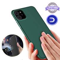 Magnetic Case for iPhone 11 Pro Max,[Support Magnetic Car Mount][Invisible Built-in Metal Plate] Magnet Case Ultra Thin Soft TPU Shockproof Anti-Scratch Protector Cover for iPhone 11 Pro Max, Green