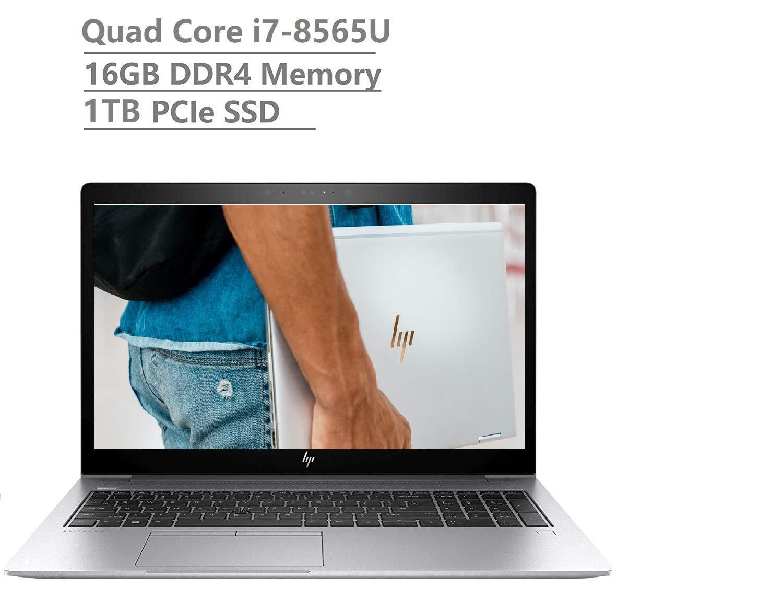 "2019 Newest HP Elitebook 850 G6 15.6"" Full HD FHD(1920x1080) Business Laptop (Intel Quad-Core i7-8565U Vpro, 16GB DDR4 RAM, 1TB PCIe NVMe SSD) Fingerprint, Backlit, Thunderbolt, B&O, Windows 10 Pro"