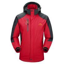Waterproof Jacket Mens Raincoats Outdoor Hiking Windproof Travel Rain Jackets