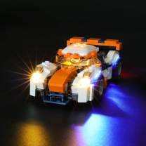 BRIKSMAX Led Lighting Kit for Sunset Track Racer - Compatible with Lego 31089 Building Blocks Model- Not Include The Lego Set