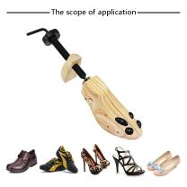 Pair of Premium Professional 2-way Wooden Shoe Trees, Wooden Shoe Stretcher for Men or Women Size (6.5-8)