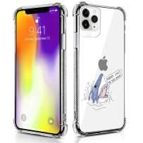Case Compatible for iPhone 11 Pro Case Shark Open Mouse Pattern Design Soft TPU Bumper Shockproof Clear Cover Phone Case for iPhone 11 Pro Case 5.8 Inch (2019)