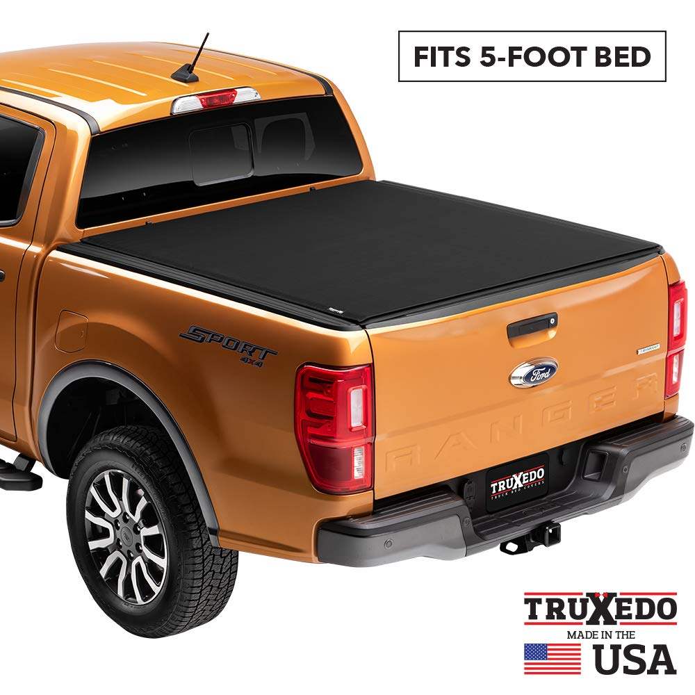 TruXedo Sentry CT Hard Rolling Truck Bed Tonneau Cover | 1539816 | fits 04-12 GMC Canyon & Chevrolet Colorado  5' bed