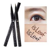 isLeaf Long Lasting Waterproof Fine Line Precision Liquid Eyeliner Black 1ea (Ink tank type)