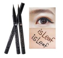 isLeaf Long Lasting Waterproof Fine Line Precision Liquid Eyeliner Black 1ea (Ink tank type)