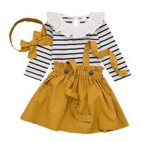 IBTOM CASTLE Polka Dots Tutu Costume for Baby Girl Princess 1st Birthday Party,Dress Up w/Overall Suspender Skirt,Headband