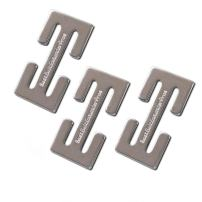 Sturdy Metal Seat Belt Adjuster Clip (3-Pack)