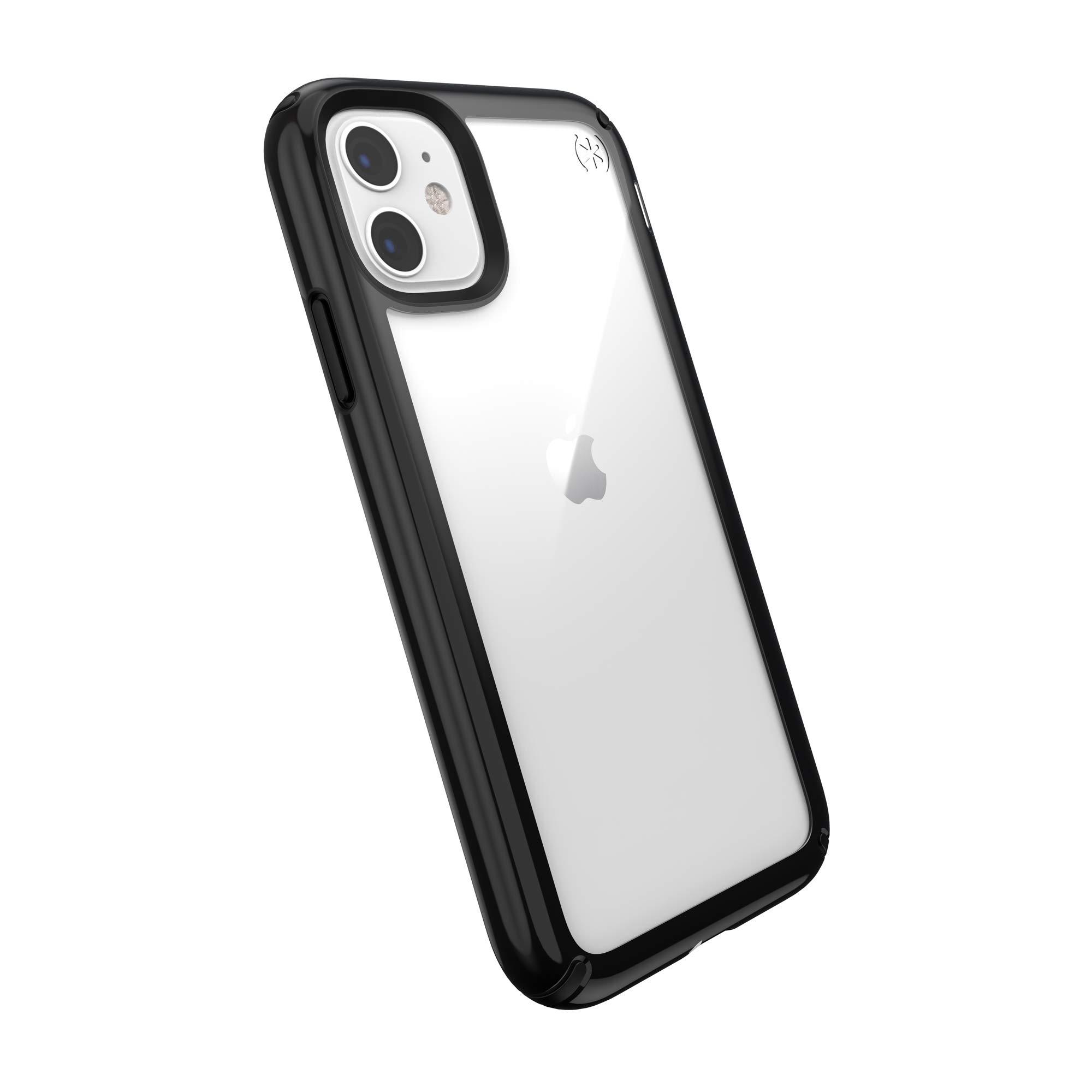 Speck Presidio Show iPhone 11 Case, Clear/Black