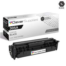 CS Compatible Toner Cartridge Replacement for HP 305A CE410A Black Laserjet PRO 300 Color MFP M375 Laserjet PRO 300 Color MFP M375NW MFP M475 MFP M475DN MFP M475DW M451 M451DN