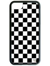 Wildflower Limited Edition Cases for iPhone 6 Plus, 7 Plus, or 8 Plus (Black Checkered)
