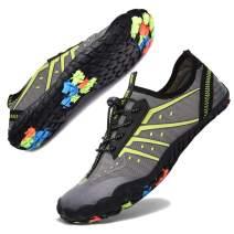 Hotaden Water Shoes for Men Women Quick Dry Barefoot Aqua Socks Lightweight Swimming Shoes for Beach