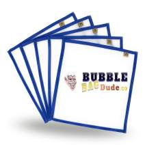 """BUBBLEBAGDUDE Pressing Screen (5 Pack of 25 Micron) 10"""" x 10"""" Herbal Essence Hash Bubble Ice Bag & Herbal Extractions - Fast Drying Process"""