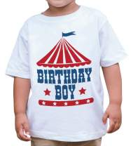 7 ate 9 Apparel Boy's Birthday Circus T-Shirt