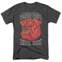 Popfunk U.S. Marine Corps Military First to Fight T Shirt & Stickers