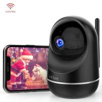 Victure Dual-Band 2.4Ghz & 5Ghz 1080P Pet Camera with Motion Detection, Wireless WiFi Camera Baby Monitor with 2-Way Audio Night Vision, Cloud Service Available