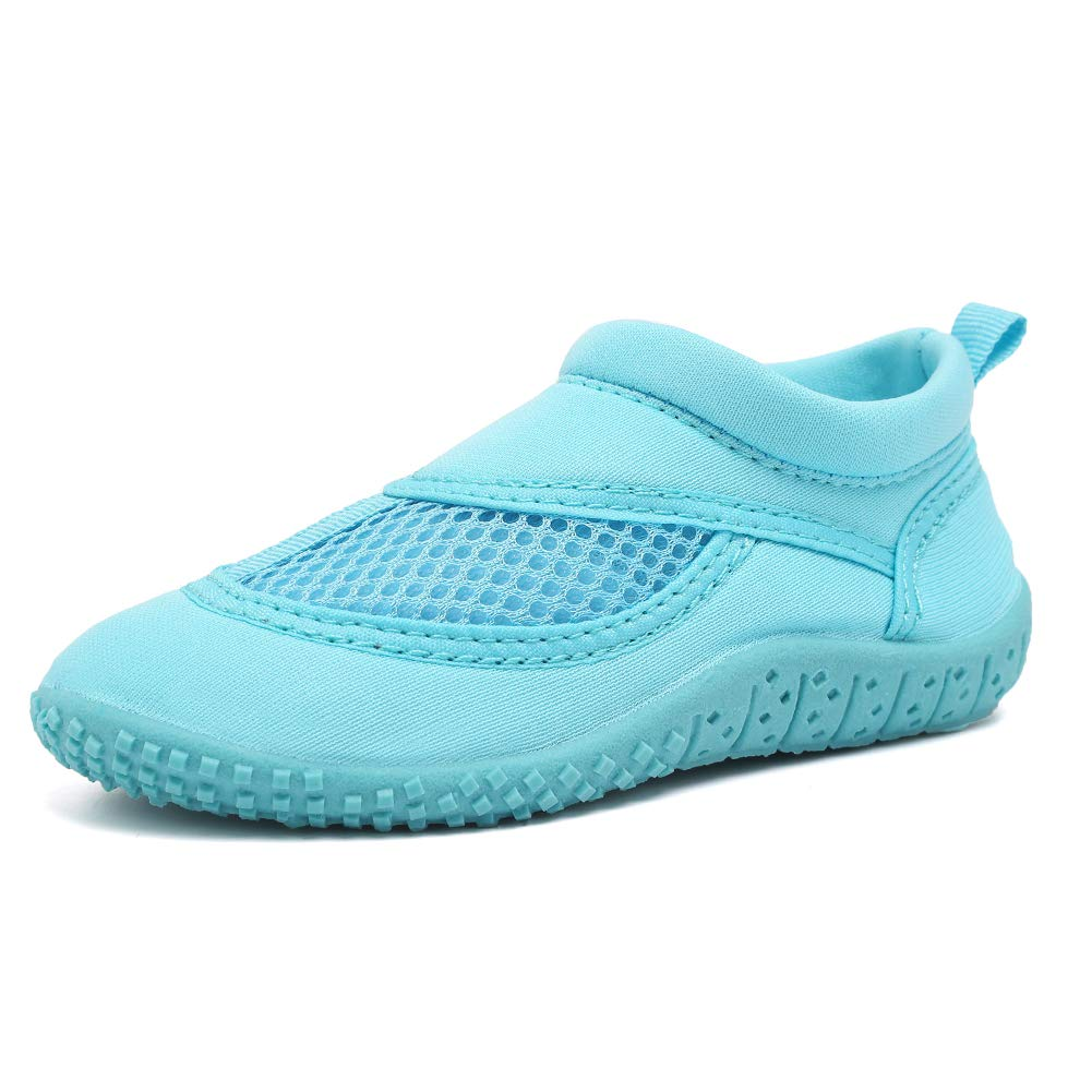 CIOR UnisexToddler Aqua Water Shoes Quick Drying Swim Beach Sports for Baby Boyss and Girls(Toddler/Little Kid) SAIP01 Blue 24