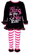 Unique Baby Girls Bling in The New Year Outfit