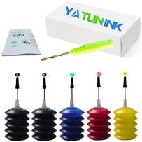 YATUNINK Refill Ink Bulk for Canon PG-545 CL-546 PG-540 CL-541 Canon PG-545XL CL-546XL PG-540XL CL-541XL Ink Cartridge(2BK/1C/1M/1Y)