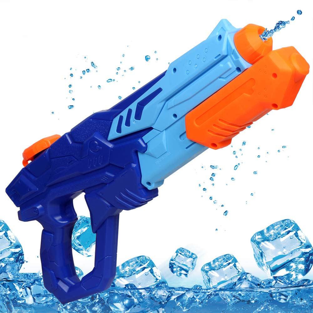 MOZOOSON Water Gun for Kids, Outdoor Toys Super Squirt Guns Water Soaker Blaster 750CC Kids Toys Gifts Water Fighting Play Toys