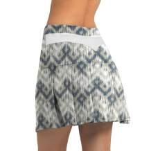 PCGAGA Women's Pleated Athletic Tennis Skorts Stretchy Sports Golf Running Skirt with Inner Shorts Pockets