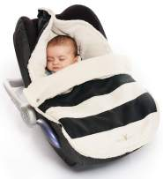 Wallaboo Baby Universal Bunting Bag, Striped Black, 12 Months