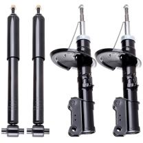 Shocks and Struts,ECCPP Front Rear Shock Absorbers Strut Kits Compatible with 2001-2009 Volvo S60/1999-2006 Volvo S80/2001-2007 Volvo V70 (Pack of 4)
