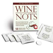 Wine Nots Wine Stain Remover Tablets Brighten Your Smile Prevents Wine Stained Lips and Teeth Pack of 12