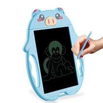 HONGKIT Toys for 1-5 Year Old Girls, LCD Drawing Tablet Writing Pad Doodle Board for Kids 2020 Hottest Gift and Toy for 2 Year Old Boys Best Birthday Gifts for 1 Year Old Girl Kids Piggy Blue