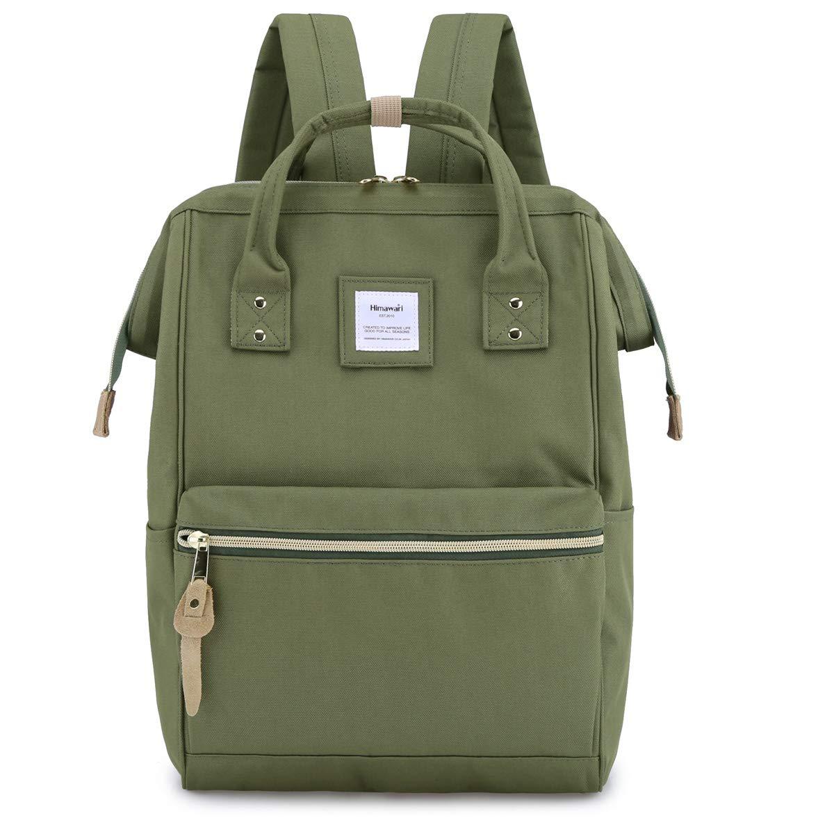 Himawari Laptop Backpack Travel Backpack With USB Charging Port Large Diaper Bag Doctor Bag School Backpack for Women&Men(9001-JL)