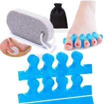 """Steins 1/8"""" Aperture Foam Corn Pads/Toe Separators, Reduces Pain and Pressure with Corns, Calluses, Hammertoes and Bunions, Non Adhesive, 6 Count"""