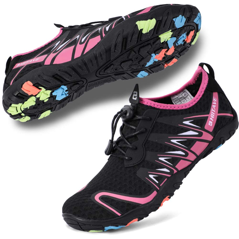 hiitave Mens Womens Water Shoes Quick