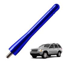 JAPower Replacement Antenna Compatible with Jeep Grand Cherokee 2005-2010   4 inches-Blue