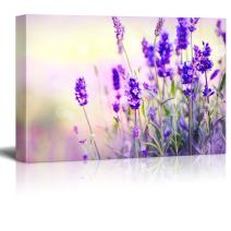 """Canvas Prints Wall Art - Lavender Field 