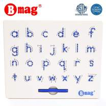 Lower Case Magnetic Letter Board,ABC Free Play Doodle Board Magnetic Letters Tracing Board,A to Z STEM Toys,Writing Learning Drawing Tablet with Stylus for Preschool,Toddler,Kids